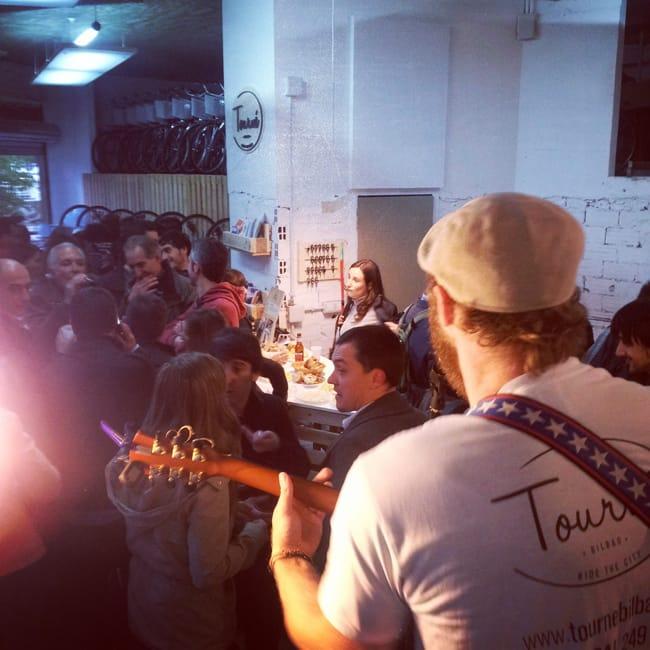 El lanzamiento de un negocio: Tourné Bilbao