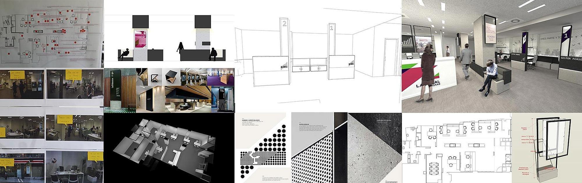 Laboral kutxa dise o del modelo de oficina flow the for Caja laboral valladolid oficinas
