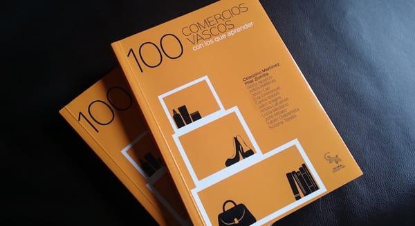100 comercios vascos con los que aprender libro