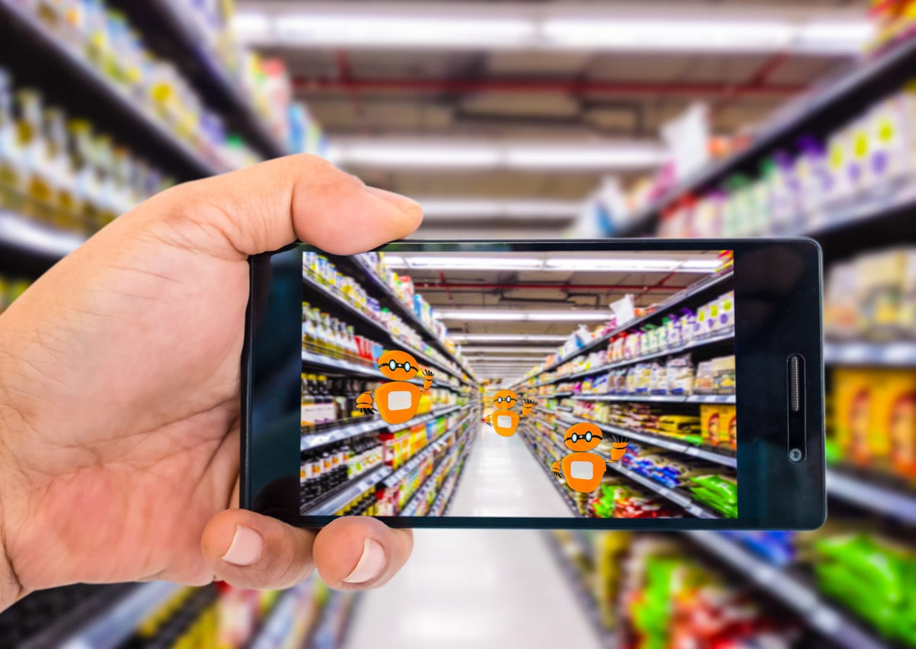 Realidad aumentada en retail