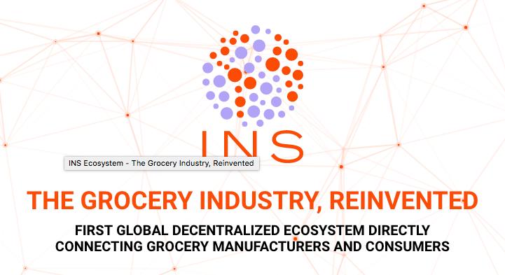 INS, un ecosistema de venta directa de alimentación basado en blockchain