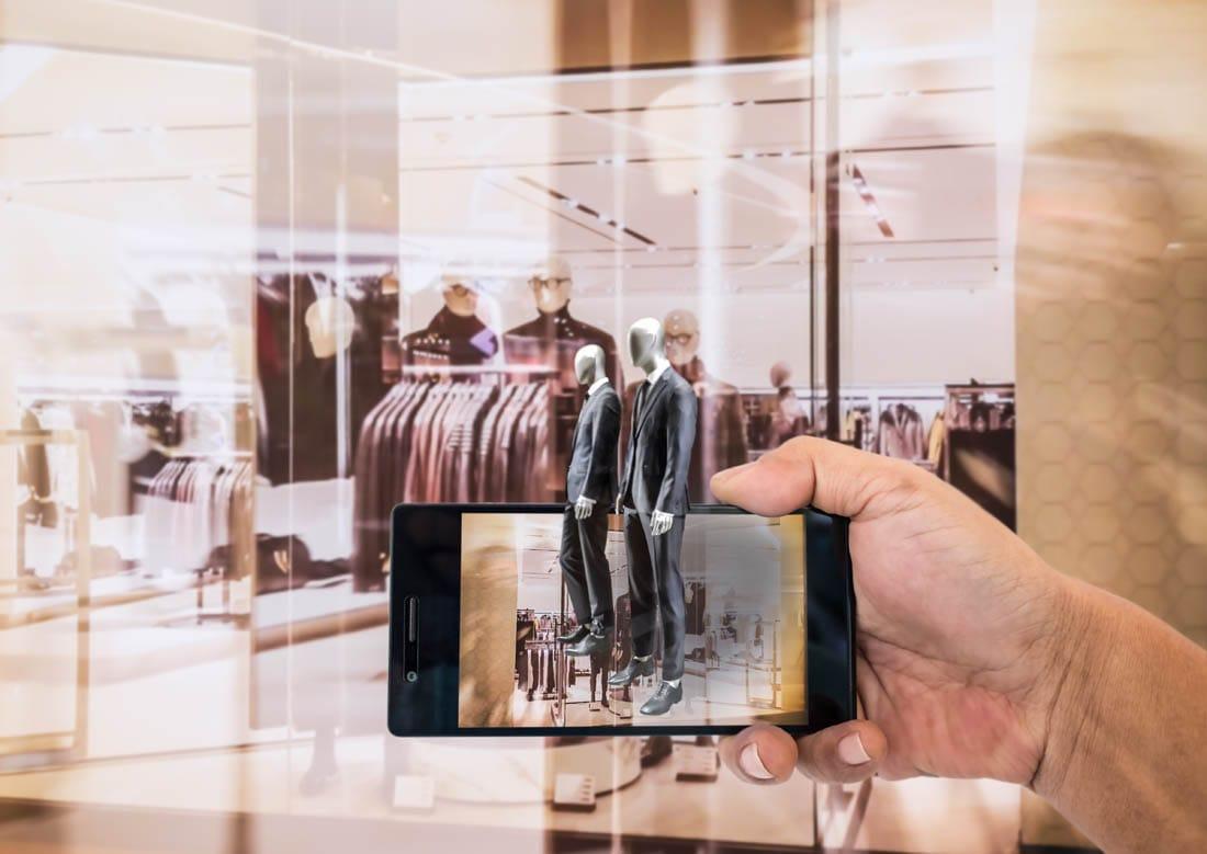 Realidad aumentada para retail de produtos intangibles