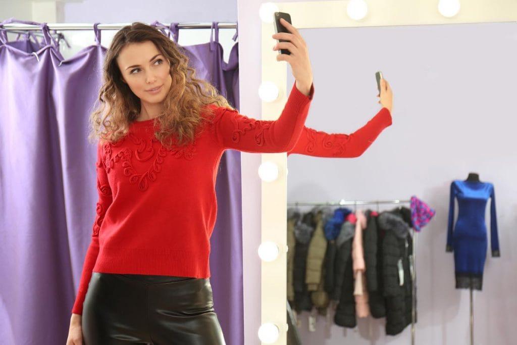 Selfies en probadores: uno de los muchos insights del retail