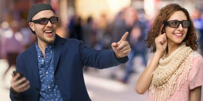 Vuzix gafas de realidad aumentada