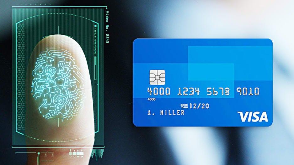 Visa permitirá el pago con huellas dactilares