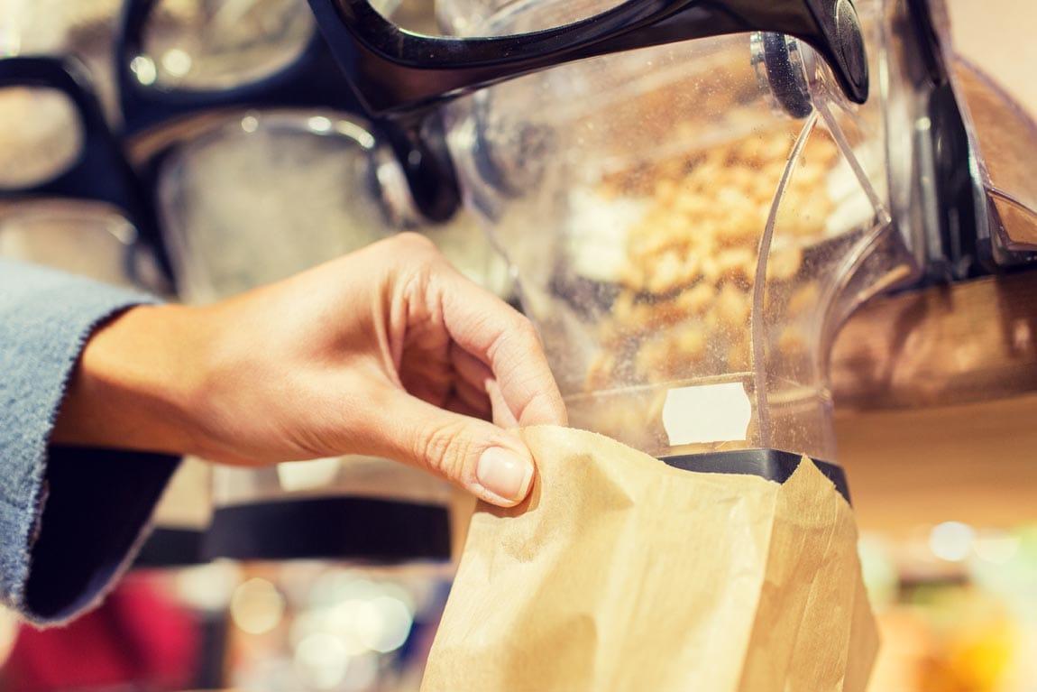 Retail de productos a granel